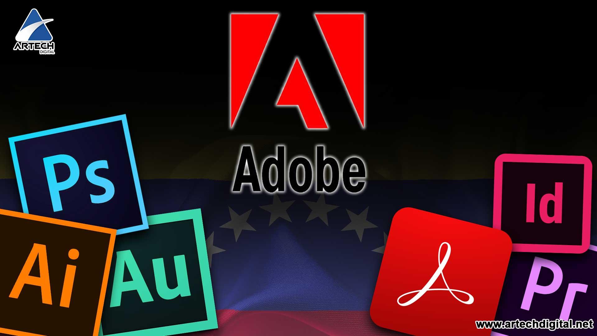 Adobe se va de Venezuela, ya no prestara más sus servicios