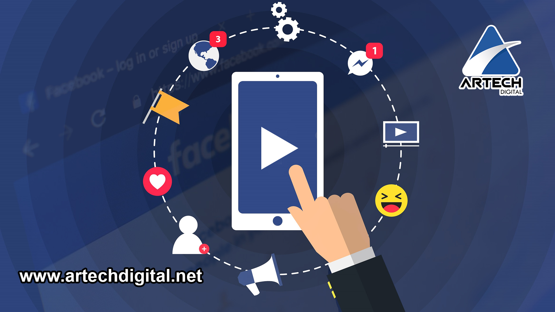 Increasing audience on Facebook - Artech Digital