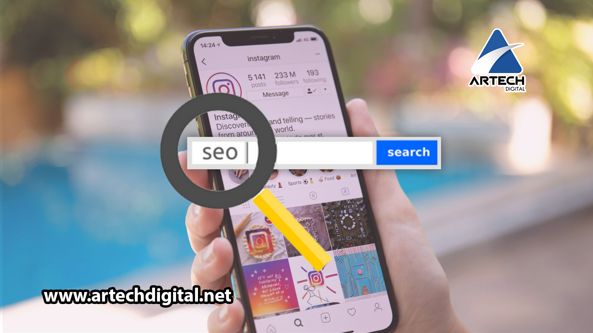 Instagram's keyword search - Artech Digital