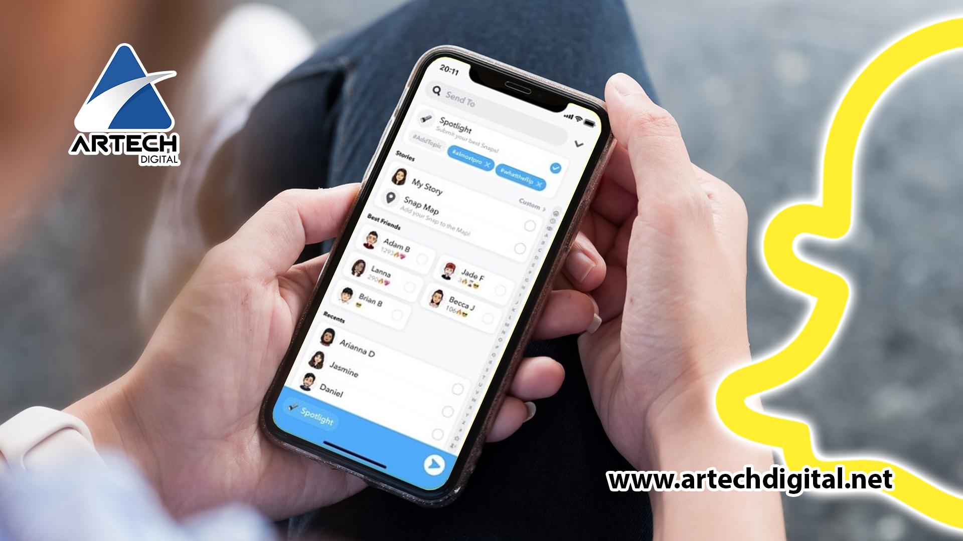 New Snapchat feature - Artech Digital