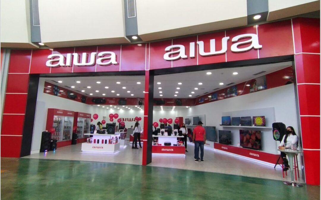 Aiwa Venezuela estrena nueva tienda en Maracay