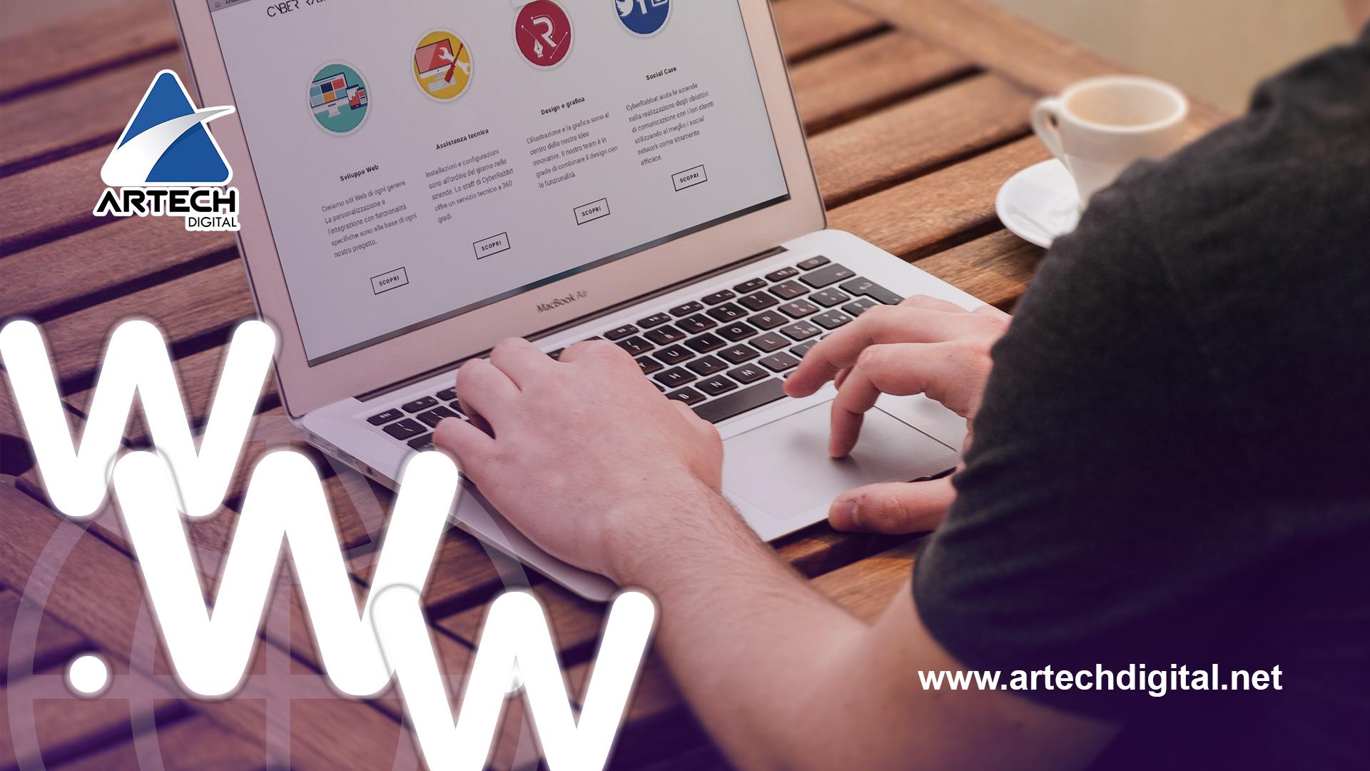 Estructura del sitio web - ArtechDigital