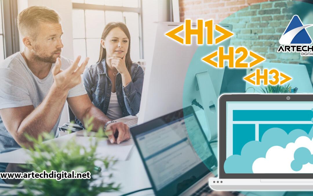 Gestionar etiquetas web - Artech Digital