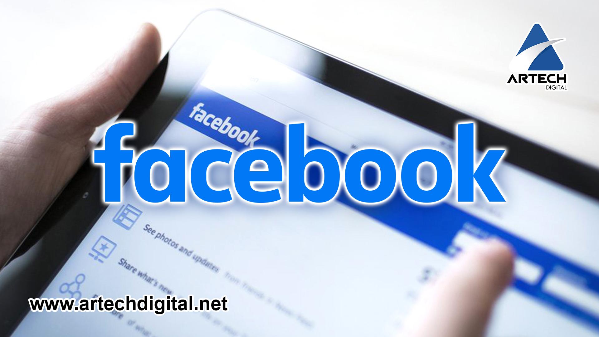 Actualización de las páginas de Facebook - Artech Digital