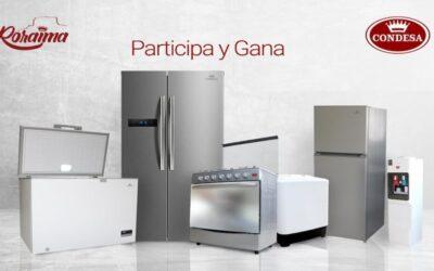 Condesa premia a la familia venezolana con productos de Línea Blanca