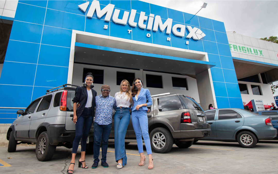 ¡Más de 30 mil venezolanos se estremecieron con la décima tienda MultiMax!